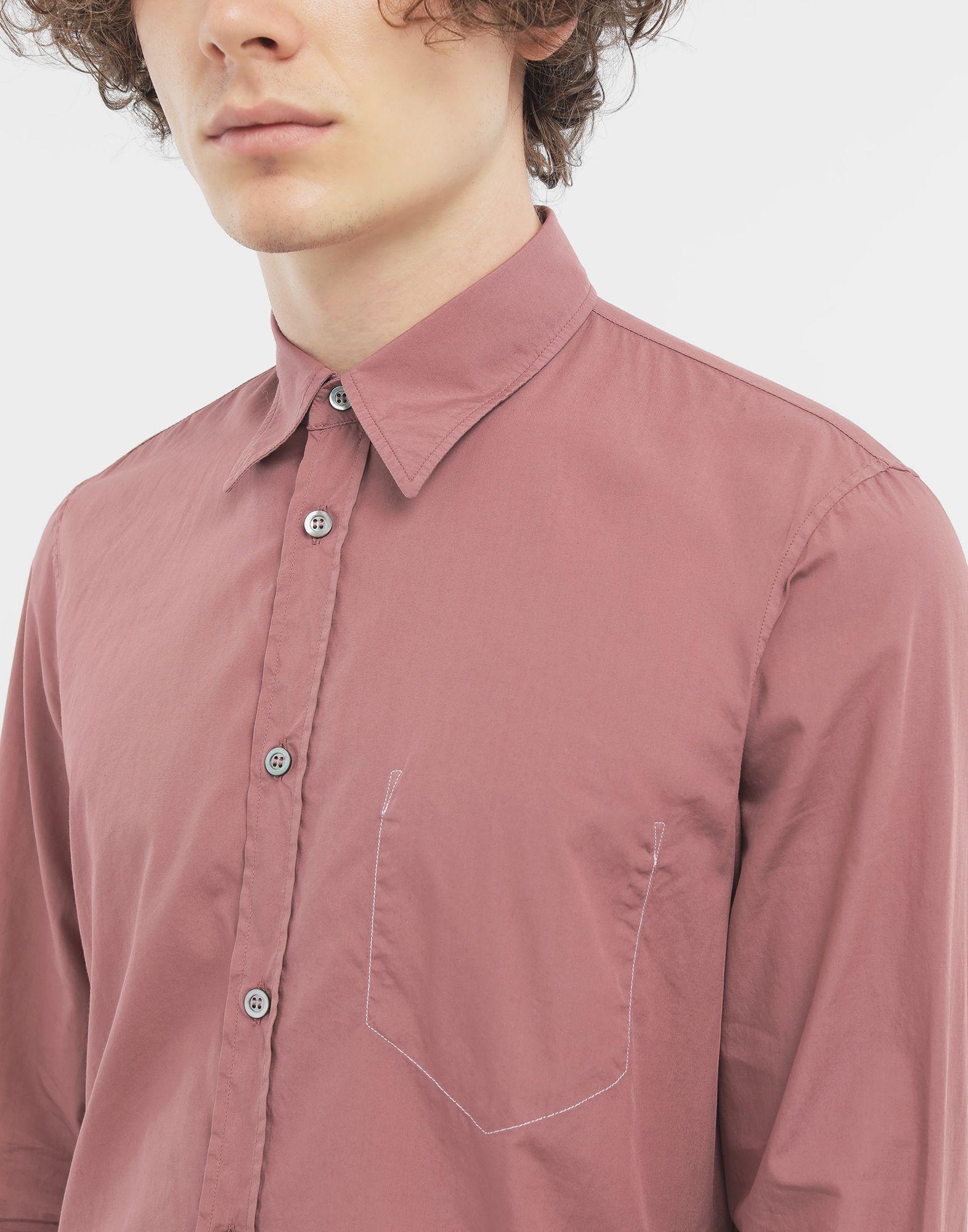 MAISON MARGIELA Outline shirt Long sleeve shirt Man a