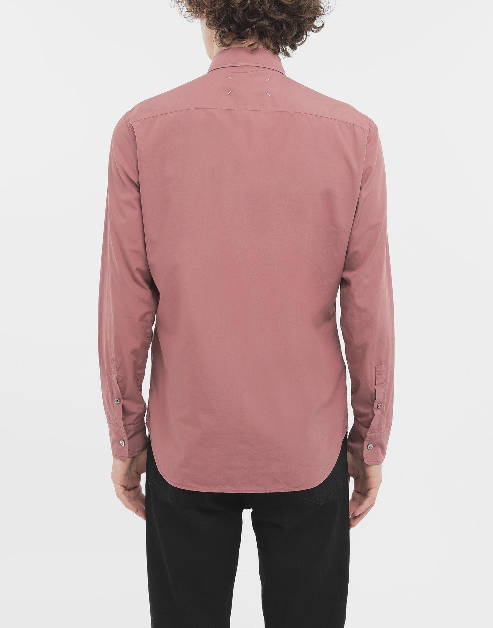 MAISON MARGIELA Outline shirt Long sleeve shirt Man e