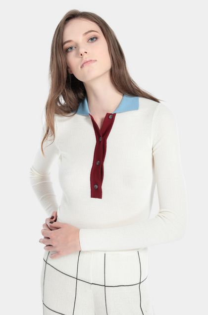 MISSONI Polo Ivory Woman - Front