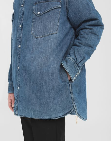 MAISON MARGIELA Oversized denim shirt Long sleeve shirt Man b