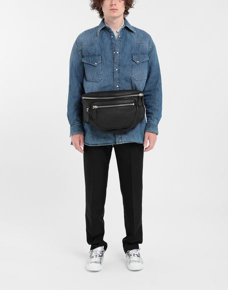MAISON MARGIELA Oversized denim shirt Long sleeve shirt Man d