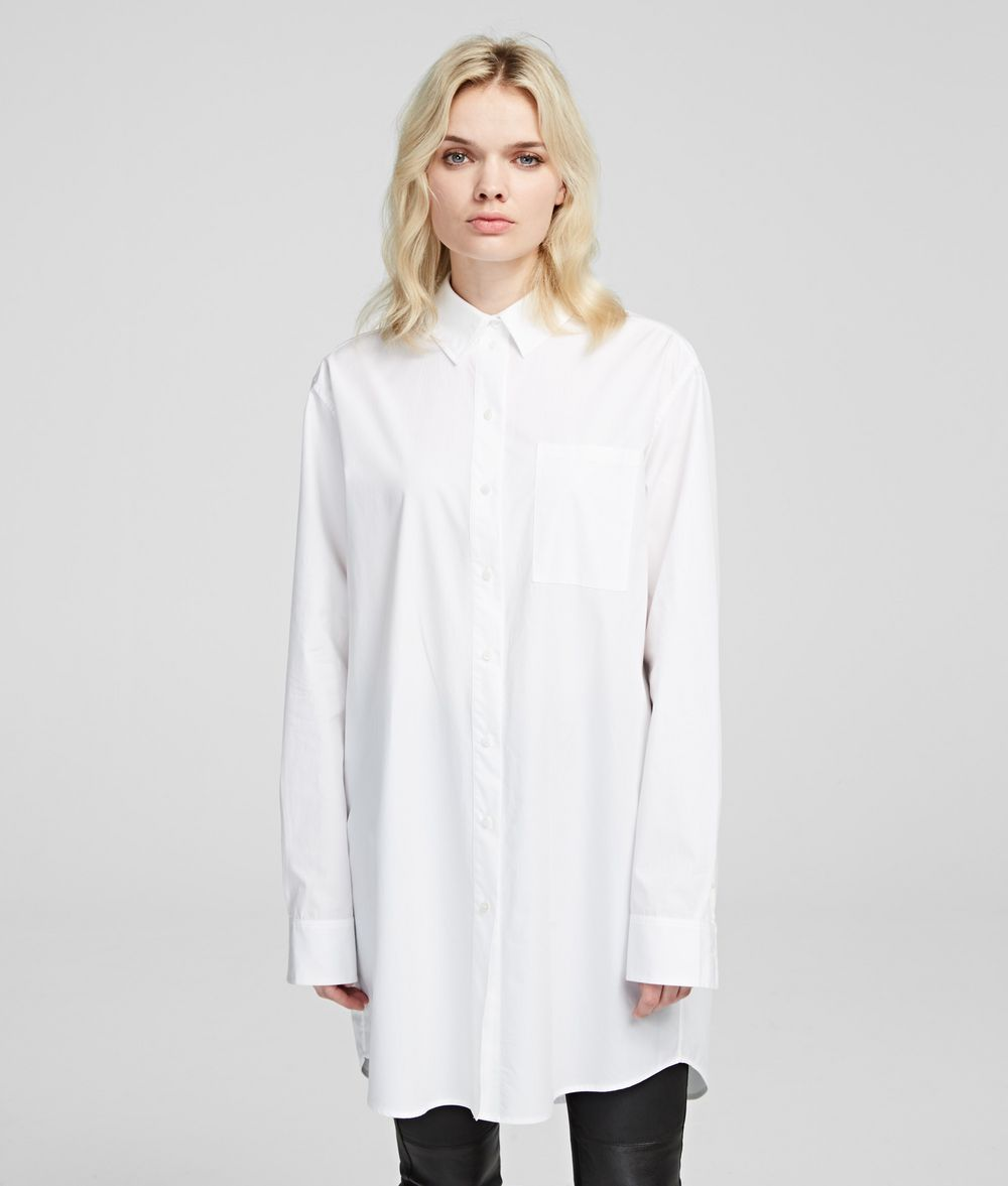 KARL LAGERFELD Karl Logo Shirt Blouse Woman f