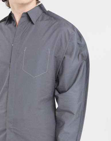 SHIRTS Outline shirt Grey