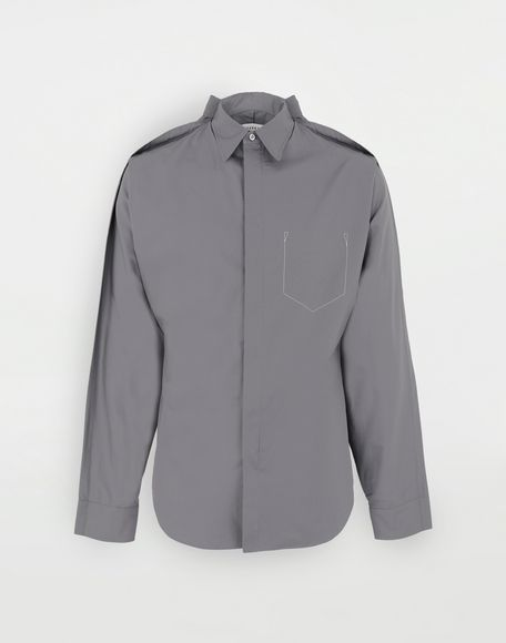 MAISON MARGIELA Outline shirt Long sleeve shirt Man f