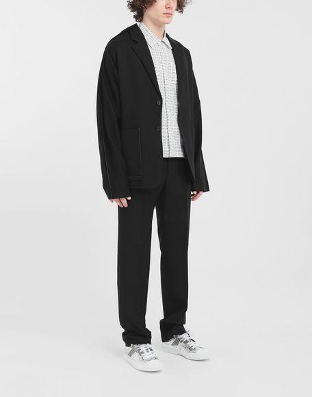 MAISON MARGIELA オールオーバー Fragileプリント シャツ 半袖シャツ メンズ d