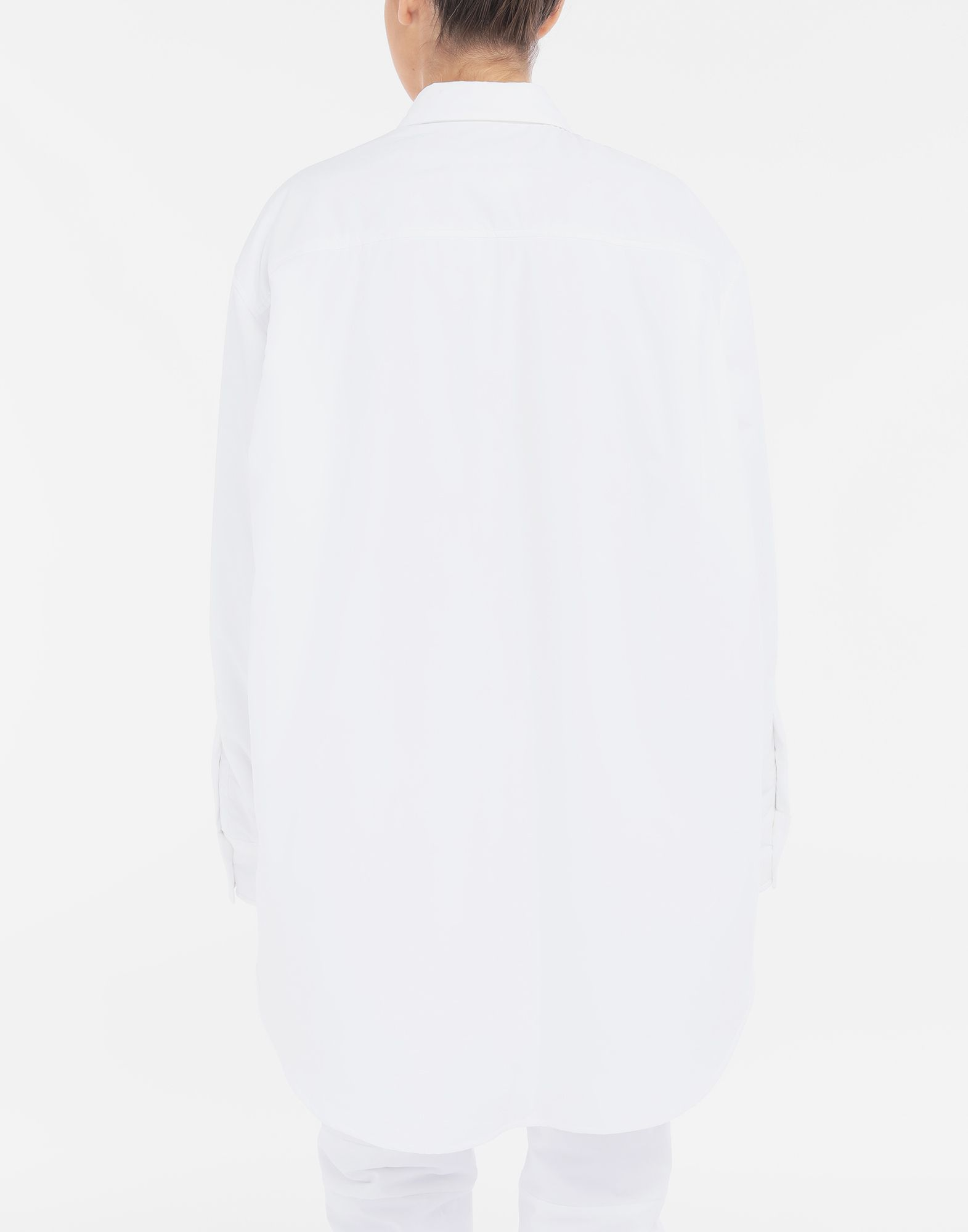 MM6 MAISON MARGIELA Padded oversized shirt Long sleeve shirt Woman e