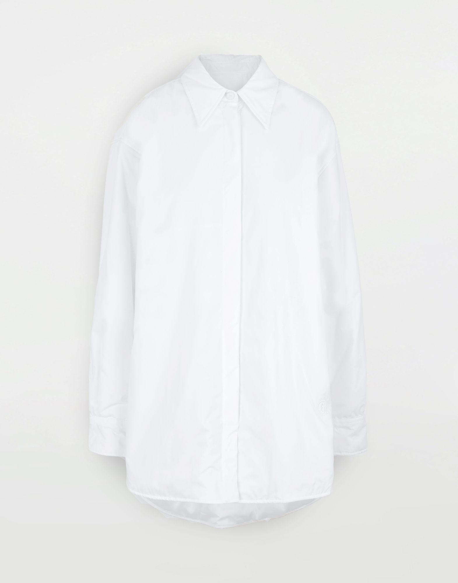 MM6 MAISON MARGIELA Padded oversized shirt Long sleeve shirt Woman f