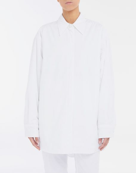 MM6 MAISON MARGIELA Padded oversized shirt Long sleeve shirt Woman r