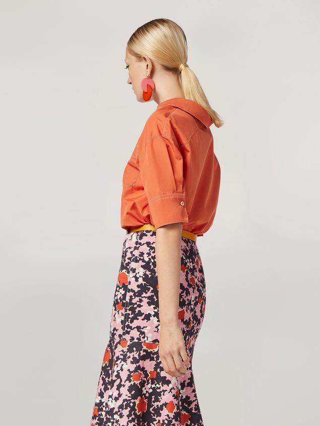Marni Camicia in popeline di cotone con taschino Donna