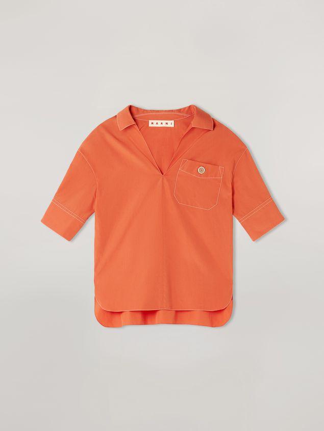 Marni Camicia in popeline di cotone con taschino Donna - 2