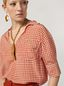 Marni Shirt in crepe de chine Hive print with chest pocket Woman - 4
