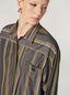 Marni Camisa de popelina de rayas con hilo teñido y pespunte en contraste Mujer - 4
