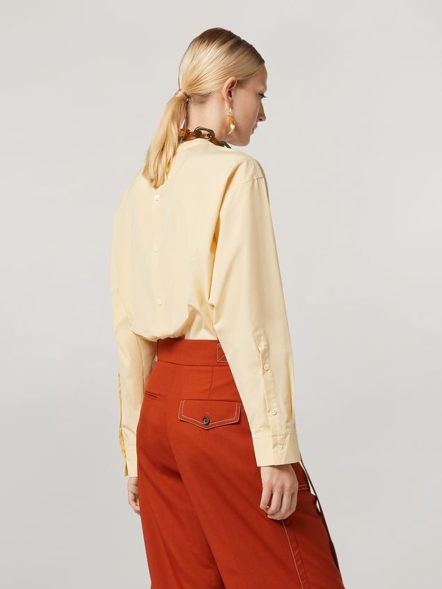 Marni Shirt in cotton poplin with back buttoning Woman