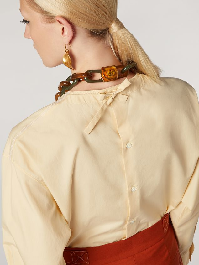 Marni Shirt in cotton poplin with back buttoning Woman - 4
