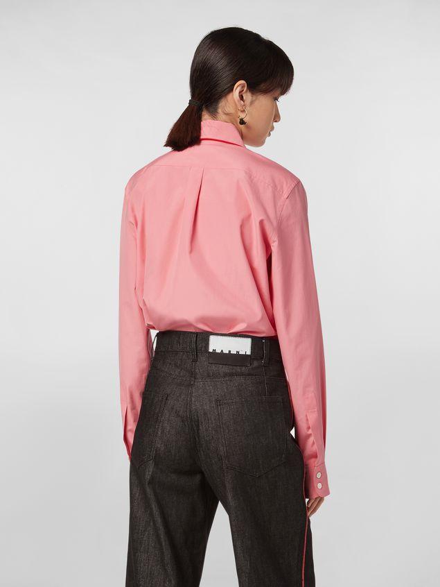 Marni CHINESE NEW YEAR 2020 ruffled  shirt in cotton Woman