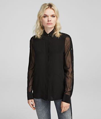 KARL LAGERFELD SILK SHIRT