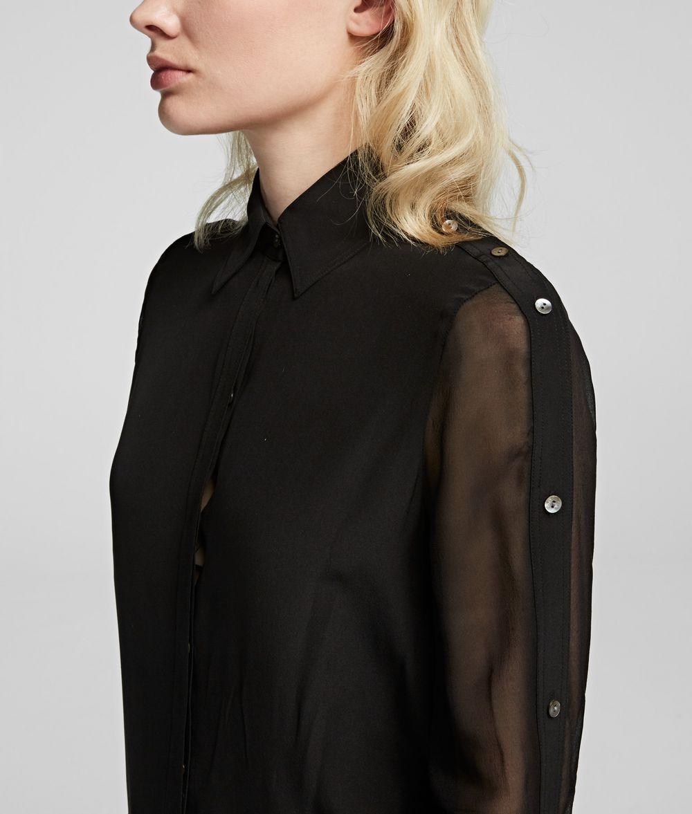 KARL LAGERFELD Silk Shirt Blouse Woman d