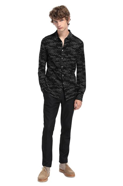 MISSONI Shirt Black Man - Front