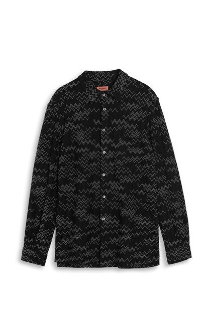 MISSONI Shirt Black Man - Back