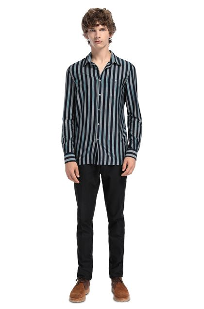 MISSONI Shirt Dark blue Man - Front