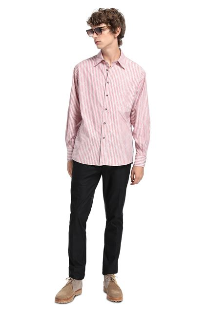 MISSONI Camisa Rosa pastel Hombre - Parte delantera