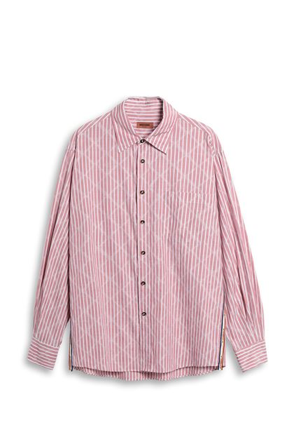 MISSONI Shirt Pastel pink Man - Back