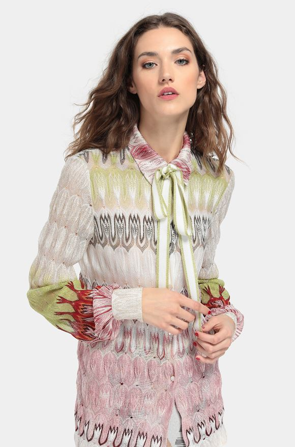 MISSONI Shirt Woman, Rear view