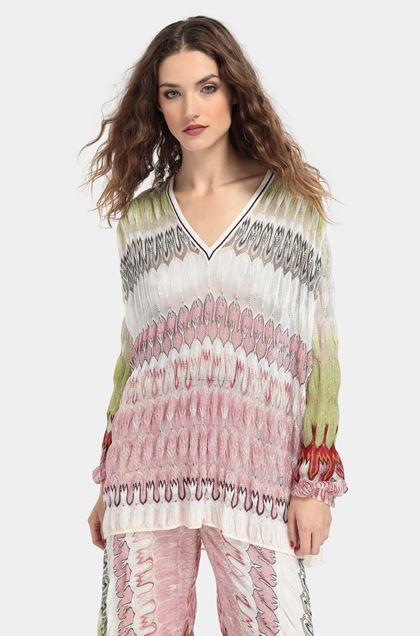 MISSONI Blouse White Woman - Front
