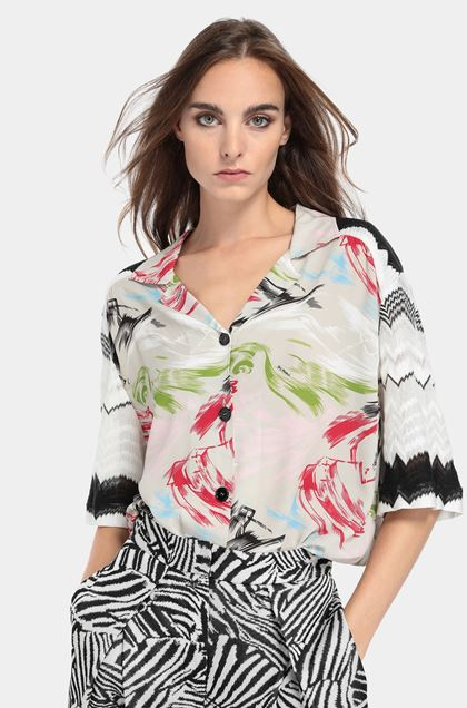 MISSONI Shirt Light grey Woman - Front