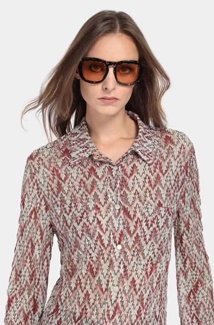 MISSONI Shirt Pink Woman - Front