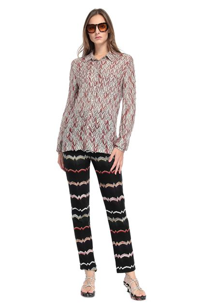MISSONI Shirt Pink Woman - Back