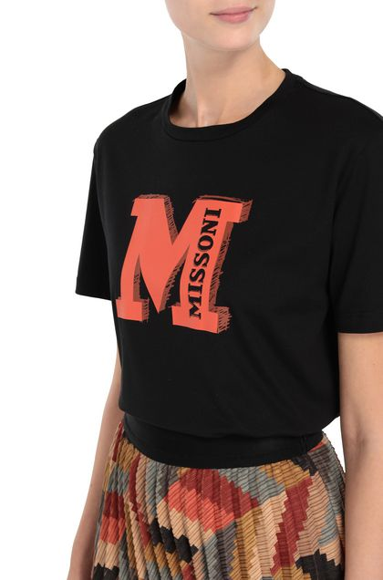 M MISSONI T-shirt Rust Woman - Front