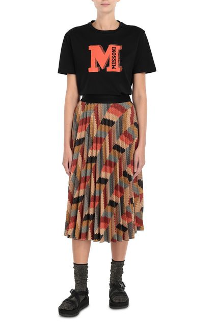 M MISSONI T-shirt Rust Woman - Back