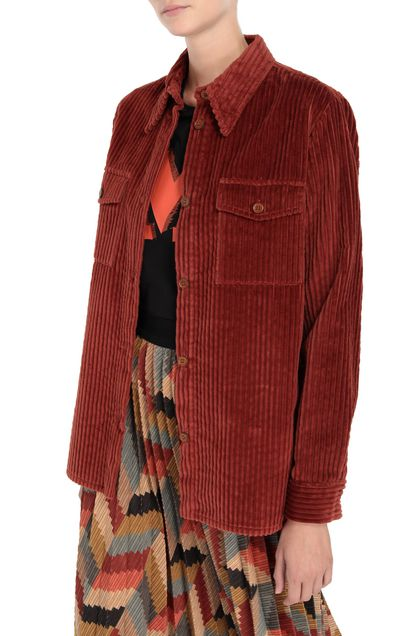 M MISSONI Shirt Brick red Woman - Front