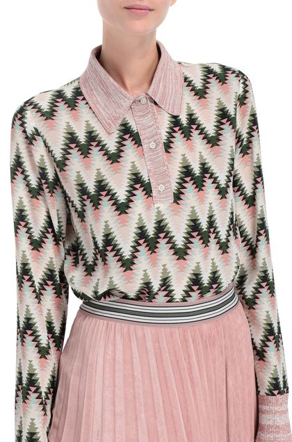 M MISSONI Shirt Pink Woman - Front