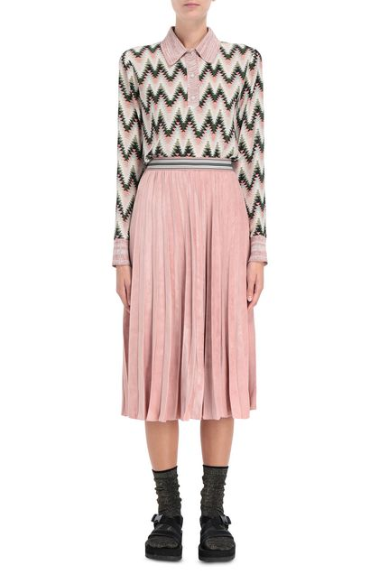 M MISSONI Shirt Pink Woman - Back