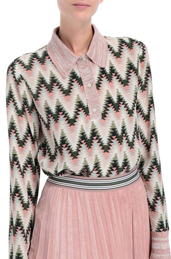 M MISSONI Рубашка Для Женщин, Вид сзади