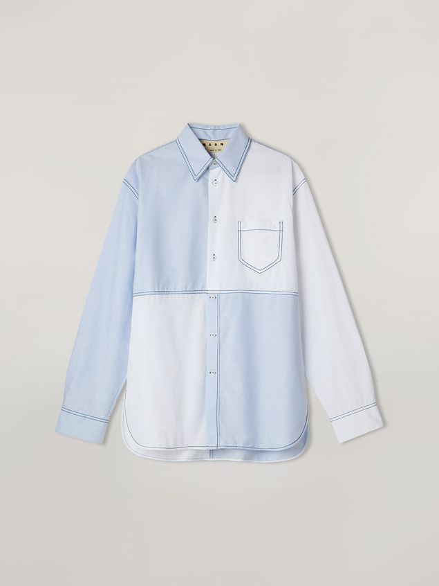 Marni Patchwork shirt in cotton Man - 2