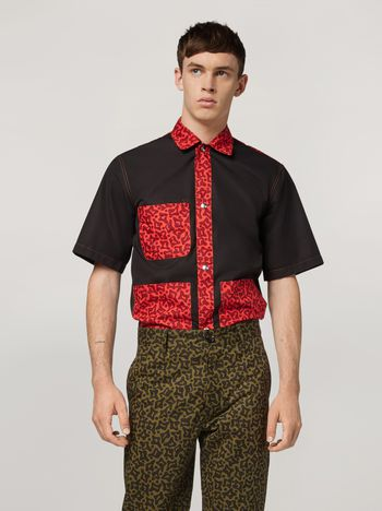Marni Shirt in cotton with pockets Man f
