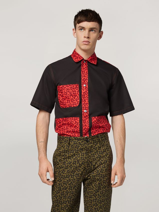 Marni Shirt in cotton with pockets Man - 1