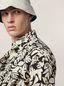 Marni Shirt in cotton poplin Eyed Leaves print Man - 4