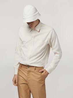 Marni Hemd aus leichtem Rippensamt Herren