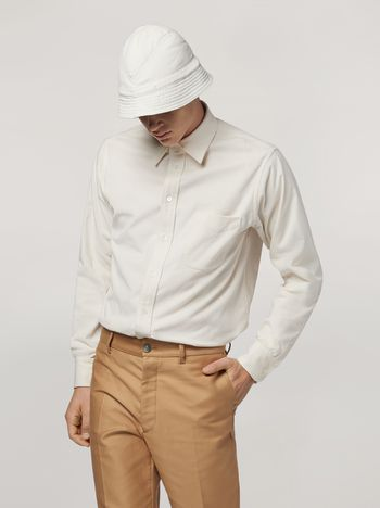Marni Shirt in light corduroy Man f