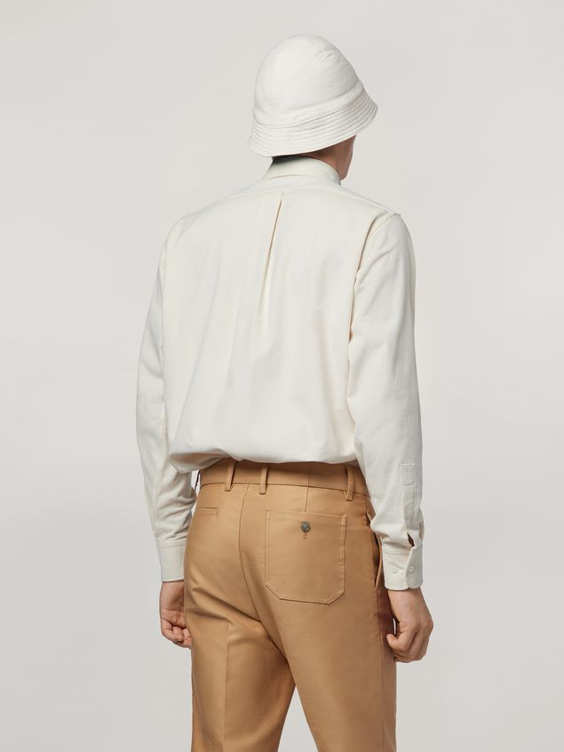 Marni Shirt in light corduroy Man