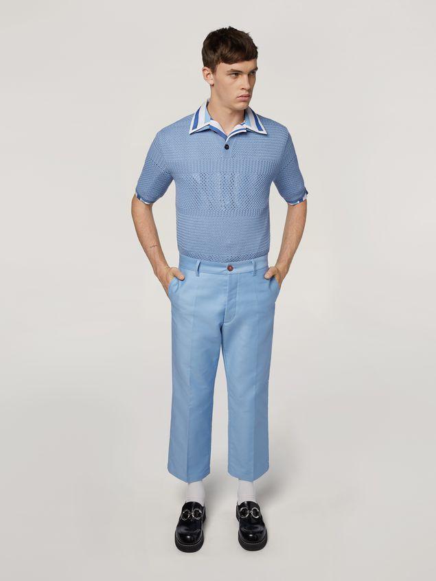 Marni Camicia in popeline di cotone rigato tinto filo Uomo - 5