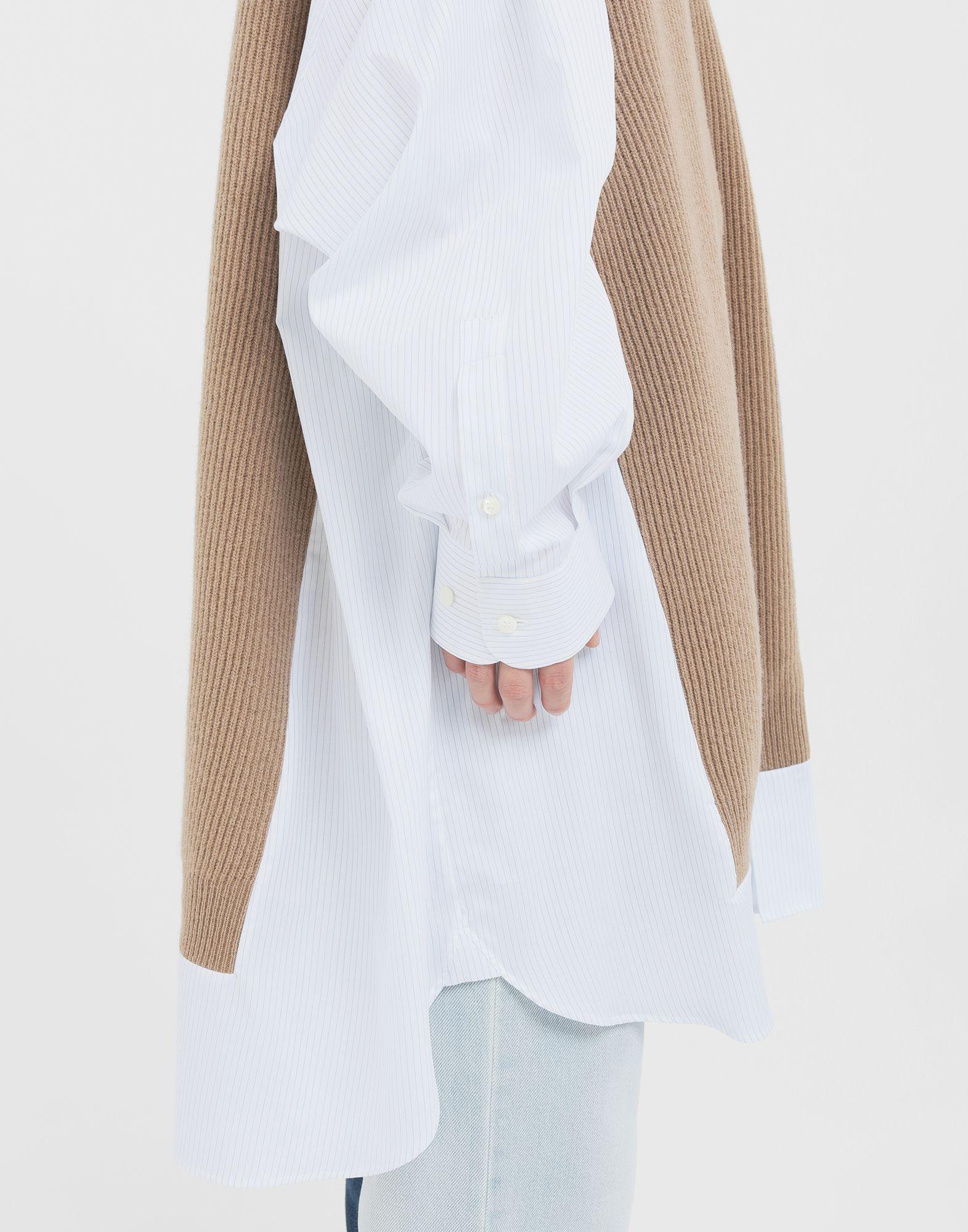 MAISON MARGIELA Spliced Oversize-Hemd Langarmhemd Damen b