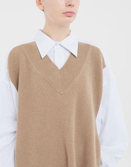 MAISON MARGIELA Spliced Oversize-Hemd Langarmhemd Damen a