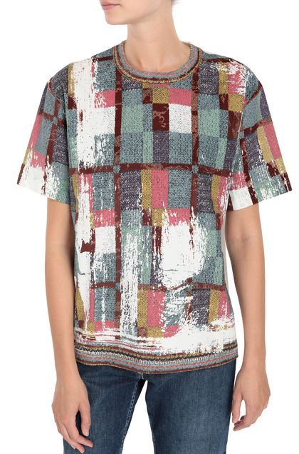 M MISSONI T-shirt White Woman - Front