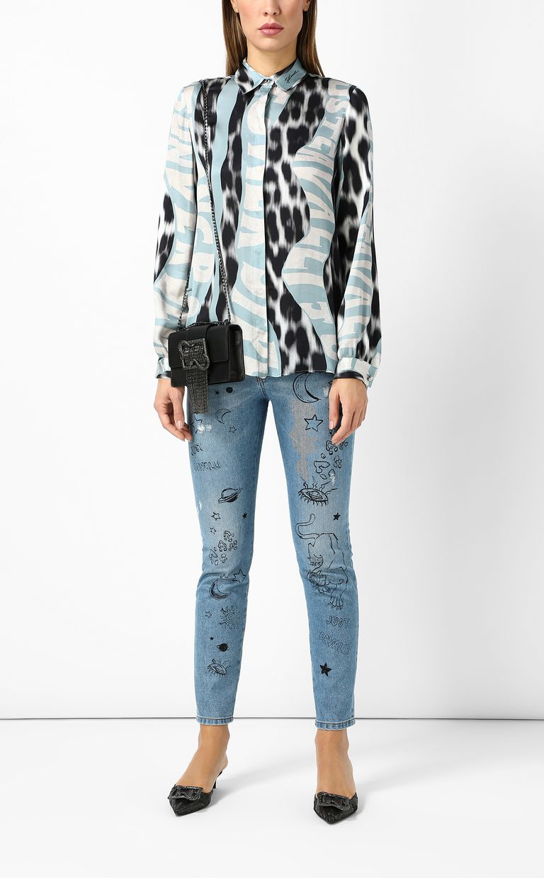 "JUST CAVALLI ""Just Flow""-print shirt Long sleeve shirt Woman d"