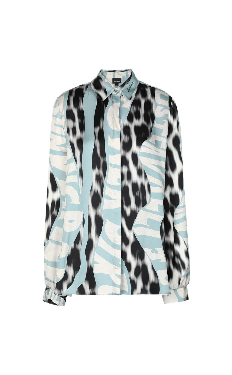 "JUST CAVALLI ""Just Flow""-print shirt Long sleeve shirt Woman f"